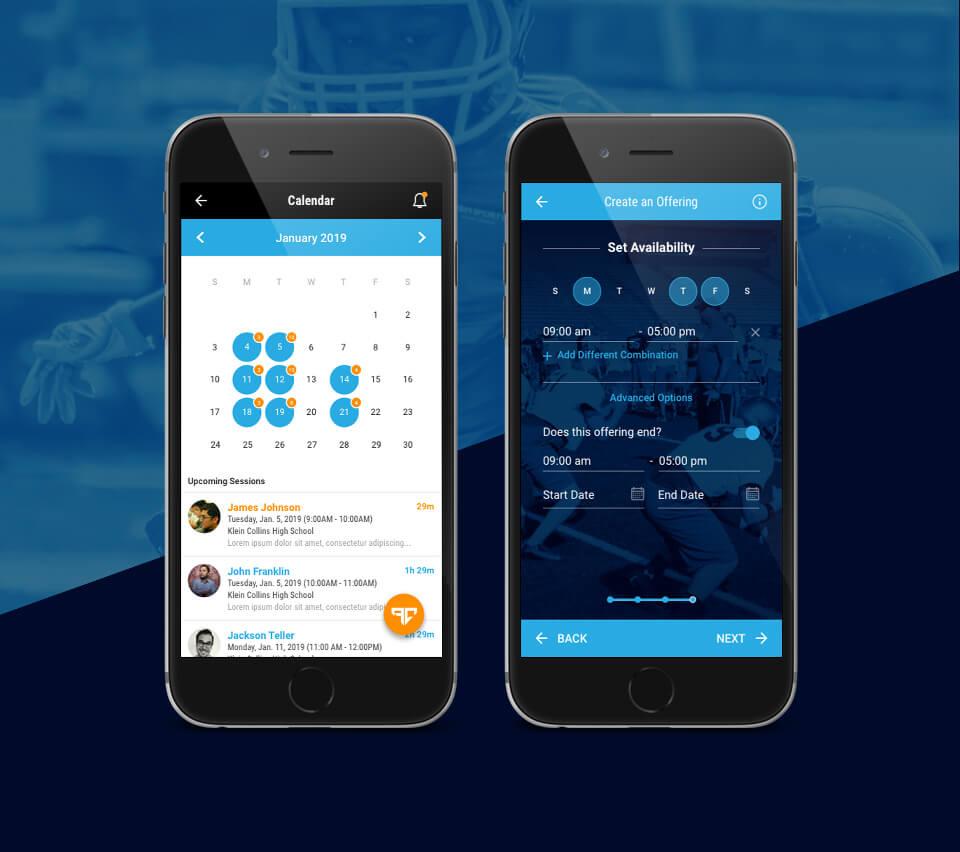 Athlete Connect App