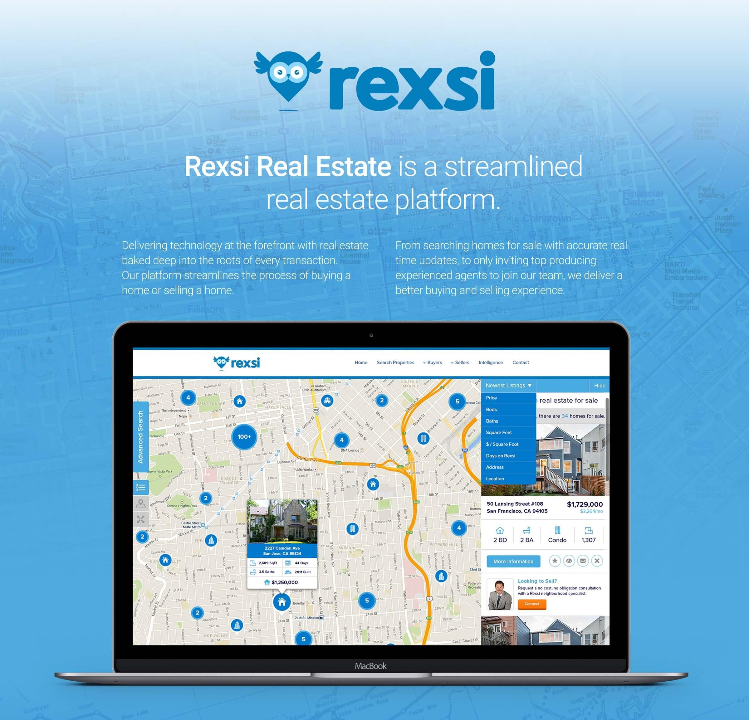Rexsi Real Estate Web App