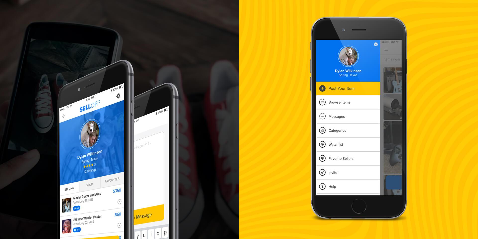 SellOff App